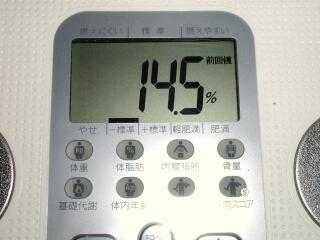 2009.1.7体脂肪率