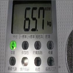 ダイエット3週間経過夕食コントロール始めたが 2度目ダイエット2010年1月29日体重