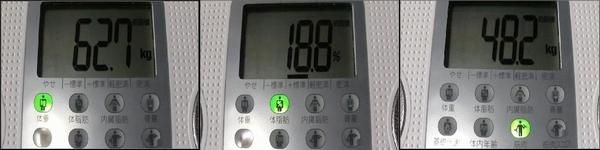 2010.2.7 体重・体脂肪率・筋肉量
