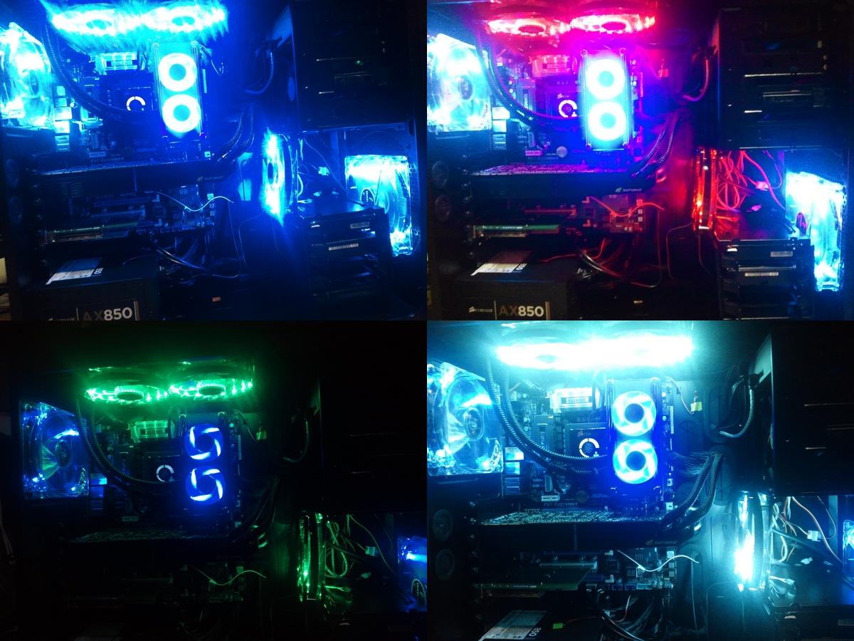 ENERMAX PCケースファン TBベガストリオ12cm UCTVT12P