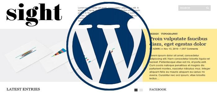 ブログテーマ変更 Wordpress無料テーマ Sight