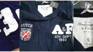 アバクロ A&F Tシャツ アバクロンビー&フィッチ マッスル ネイビー